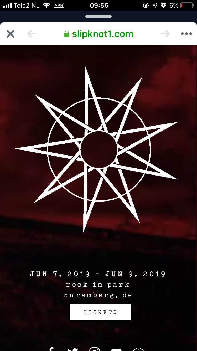 Slipknot Leaked For Rock Am Ring And Rock Im Park 2019